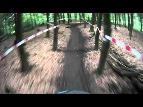 Erstes Downhillrennen in Wuppertal Kothen