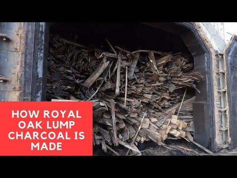 How Royal Oak Lump Charcoal Is Made
