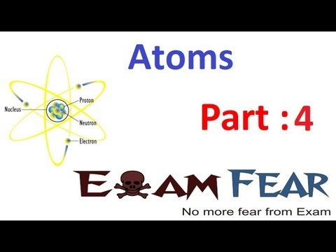 Physics Atoms part 4 (Rutherford model) CBSE class 12