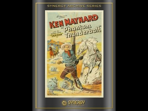 [Western] Phantom Thunderbolt (1933) Ken Maynard, Frances Lee, Frank Rice