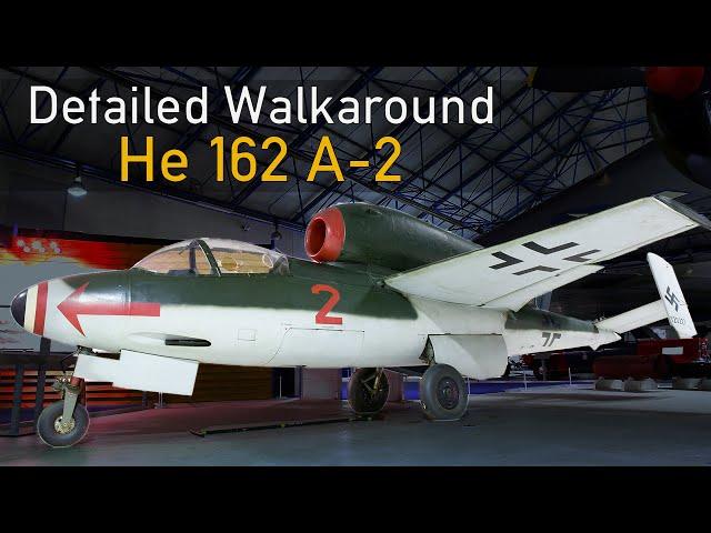 Heinkel He 162 - Detailed Walkaround