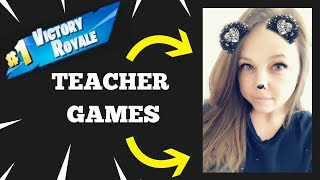Venez jouer FORTNITE w/Teacher [Open Lobby] Road to 8K 'LIVE' [HUGE Giveaway - 10K]