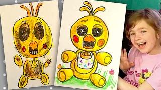 - Как нарисовать Чику из 5 ночей с фредди How to draw Chica FNAF