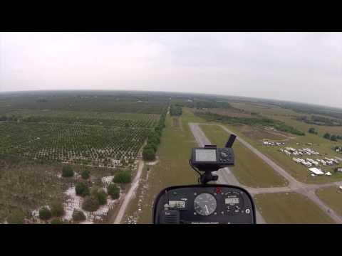 Tim Verroi Gyro Flying at Bensen Days 2014