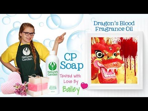 soap-testing-dragon's-blood-fragrance-oil--natures-garden