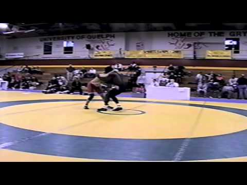 2002 Senior Greco National Championships: 66 kg Fred Harrison vs. Danny Brown