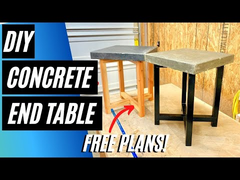 concrete-end-table-/-diy-easy-woodworking-project-with-free-plans!