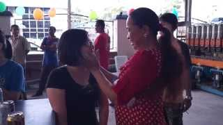 02 Thailand New Year Celebration at Batu Pahat Johor Malaysia Songkran  Festival Water Splashing Day