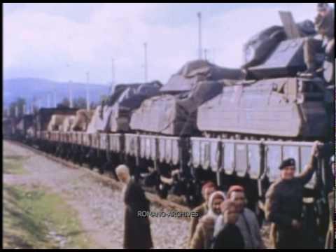 1942 Tunisia - Allied Train