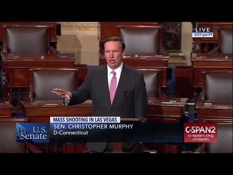 Senator Murphy Delivers Remarks on the Deadly Mass Shooting in Las Vegas