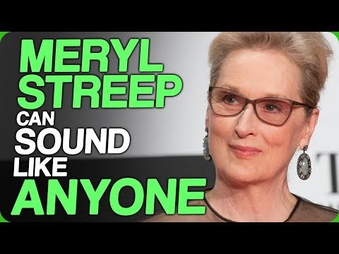 Meryl Streep Can Sound Like Anyone (Actors Affecting Accents)