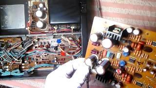 SONY TC K950ES неисправные конденсаторы