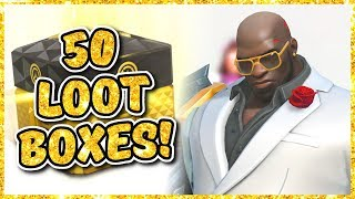 Overwatch - OPENING 50 ANNIVERSARY 2018 LOOT BOXES