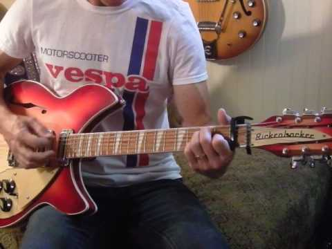 """Johnny Marr/Billy Bragg: """"Greetings to the New Brunette"""" (lesson; 12 string part)"""