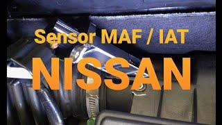 Sensor MAF / IAT utilizado no motor NISSAN MR18DE  TIIDA , LIVINA , XGEAR