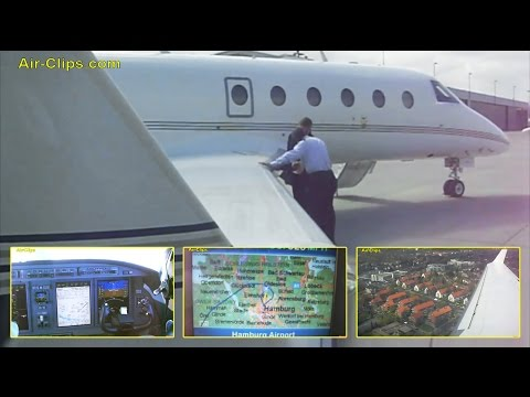 Gulfstream G150 Business Jet FULL FLIGHT + Cockpit and Cabin views by [AirClips full flight series]