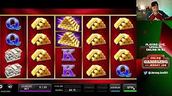Gold Cash LIVE slots with BONUS [Online Gambling with Jersey Joe # 81]