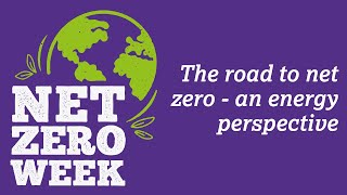 Click here to play the The road to net zero – an energy perspective video