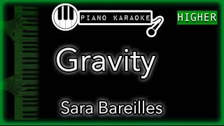 """Piano karaoke instrumental for """"gravity"""" by sara bareilles (3 semitones higher)you can now say thank you and buy me a coffee! ☕️it will allow to keep brin..."""
