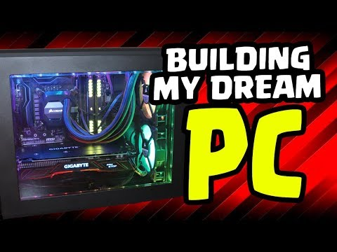 BUILDING MY DREAM PC! SO MUCH RGB! Ultimate Gaming and Streaming PC