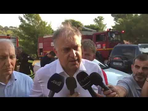 Δηλώσεις Υπουργού Εσωτερικών Τάκη Θεοδωρικάκου για τη φωτιά στη Νέα Μάκρη 05092019