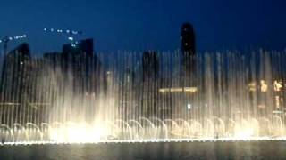 World's most amazing fountains - Dubai Fountain - Burj Kalifa