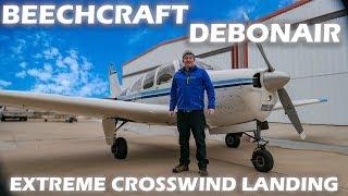 beechcraft-debonair-extreme-crosswind-landing