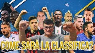 Come SarÀ La Classifica Finale Della Serie A 2019 20?