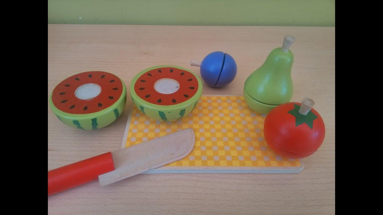 Juguetes Verdura Fruta Y Playtive Cortar De Junior Youtube Tabla D2E9WIH
