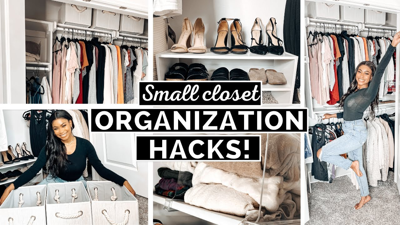 Download 10 Small Closet Organization Hacks That Will TRANSFORM Your Space!