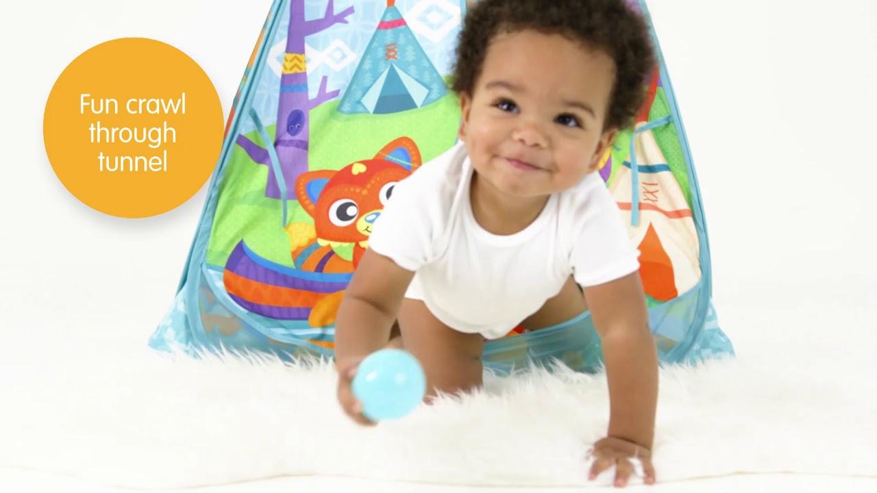 best website a156e 0f3c5 Playgro Convert Me Teepee Ball Activity Gym- Smyths Toys
