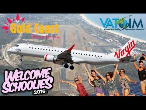 Wilco E190 on Vatsim - Sydney Schoolies to the Gold Coast