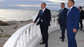 Назарбаев в Актау продолжает отжигать / БАСЕ