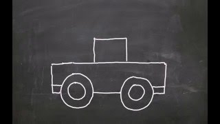 How to draw  a toy car