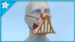Darth Vader Face Mask #adafruit #3DPrinting #Timelapse
