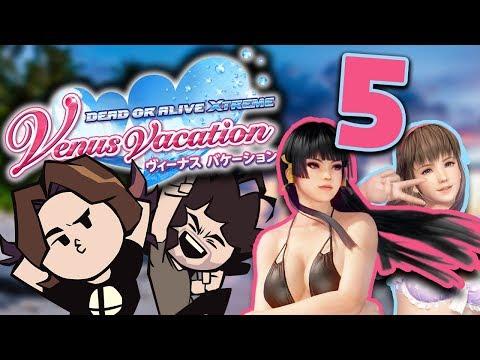 Dead or Alive Venus Vacation: Blockin' It! - PART 5 - Game Grumps