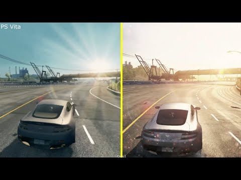 Need For Speed Most Wanted PS Vita vs PS3 Graphics