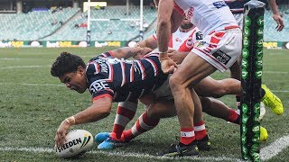 NRL Highlights: Sydney Roosters v St George Illawarra Dragons - Round 20