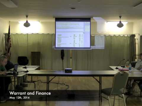 Warrant and Finance - 05-12-2014