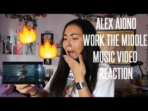Alex Aiono - Work the Middle MUSIC VIDEO REACTION