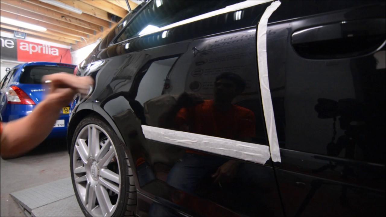 Audi S3 coupe | ремонт заднего крыла | PDR
