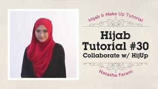Hijab Tutorial - Natasha Farani (Collaborated with HijUp) #30