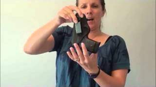 """Holster Review: """"The Betty"""" by Looper Law Enforcement Holsters (The Pin Up Collection)"""