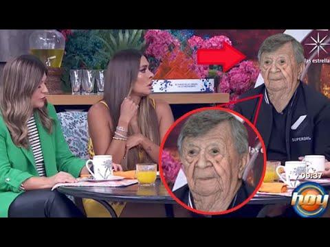"""Download Chabelo se presenta en el programa """"Hoy"""" sin maquillaje y muestra su cara REAL: """"tengo arruguitas"""""""