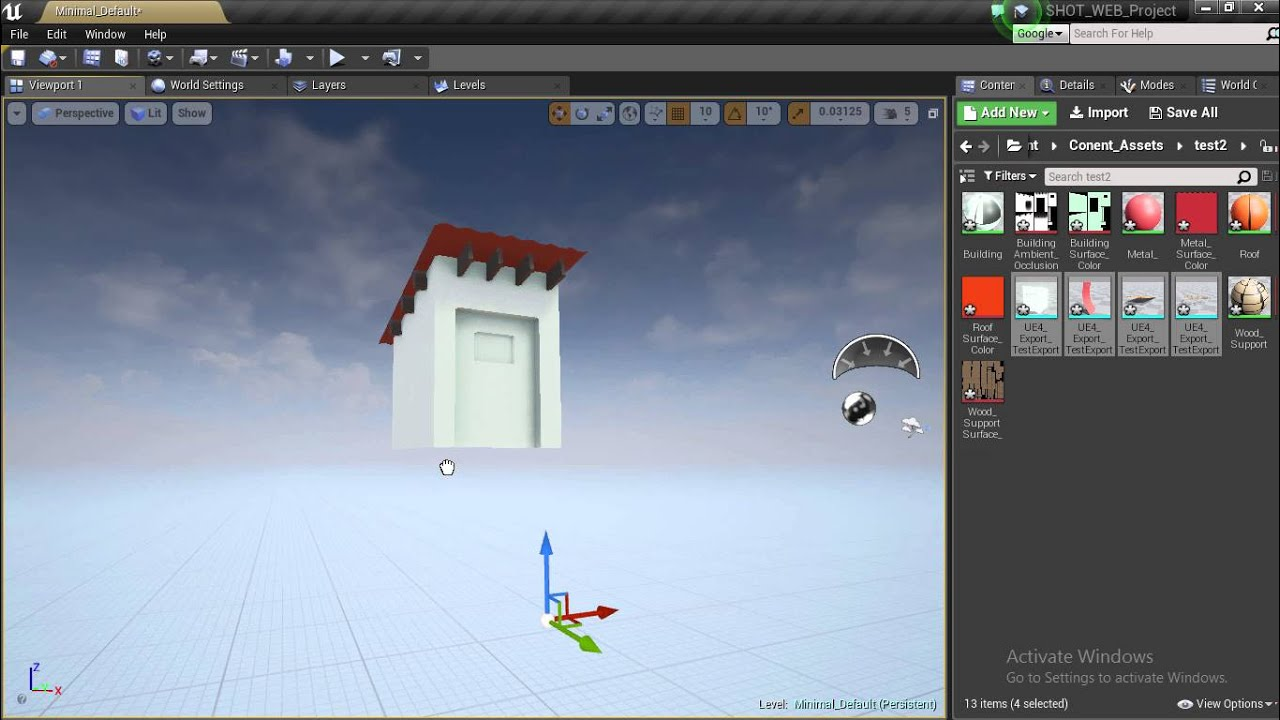 Exporting to UE4 from Cinema 4d with FBX 2010 vs FBX 2016 but 2010 Wins by  Ap Ashton TheCreator