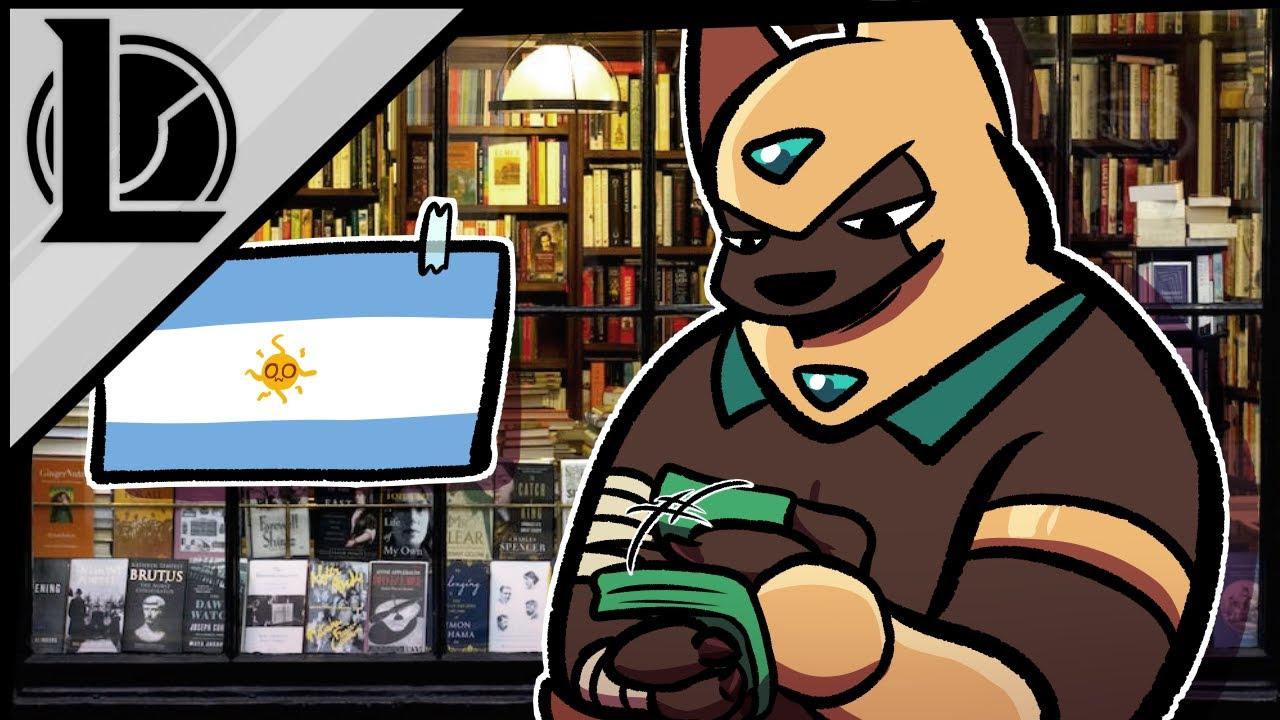 NASUS Y LAS LIBRERIAS DE ARGENTINA, DE ESO VA ESTE VÍDEO   LEAGUE OF LEGENDS