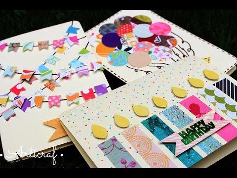 Cartas tarjetas r pidas f ciles y bonitas para for Hacer tarjeta cumpleanos