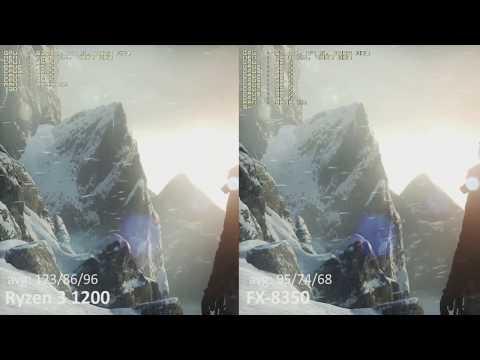 AMD Ryzen 3 1200 vs. AMD FX-8350 in 10 Games. FX, Time to upgrade.