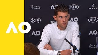 Dominic Thiem press conference (2R) | Australian Open 2019