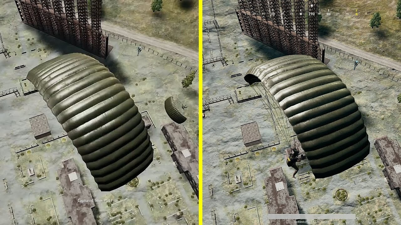 Pubg Ps4 Pro Hdr: PUBG PS4 Pro Vs Xbox One X Early Graphics Comparison